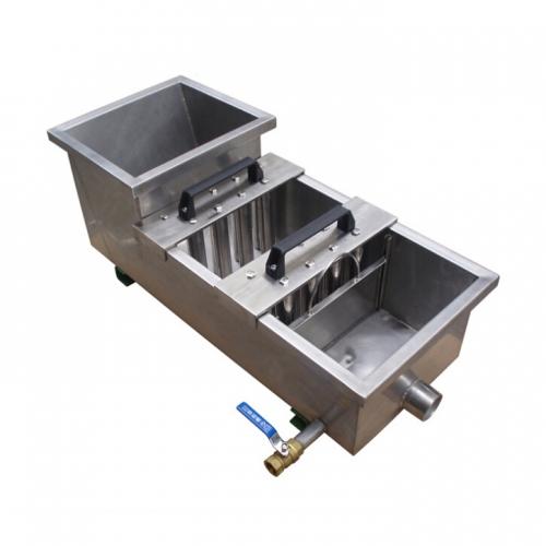 溜槽式浆料除铁器